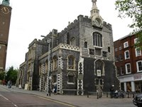 Car rental in Norwich, The Guildhall, UK